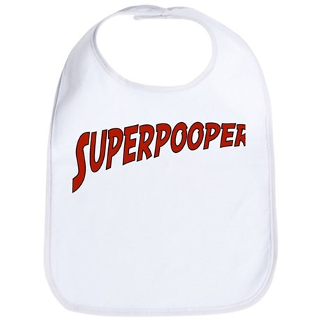 """Superpooper"" Bib"