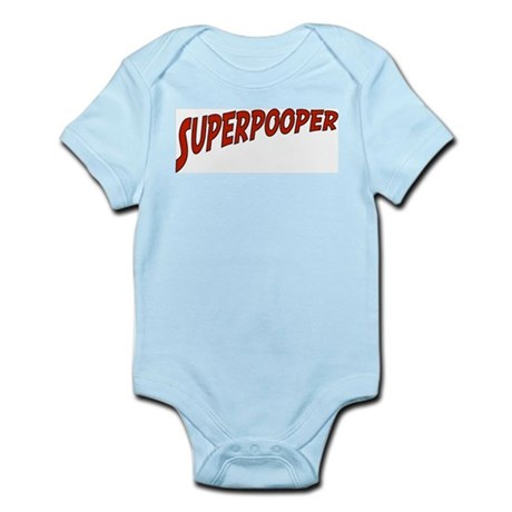 """Superpooper"" Infant Creeper"