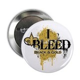 "I Bleed Black and Gold 2.25"" Button (100 pack)"