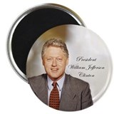 President Bill Clinton - Magnet
