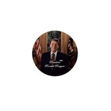 President Ronald Reagan - Mini Button