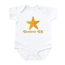 Cambria California Infant Bodysuit