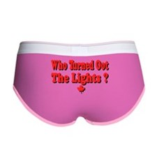 Afraid of the Dark? Women's Boy Brief