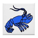 Blue Dutch Crawfish Tile Coaster