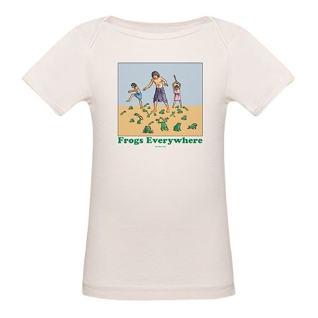 Frogs Kids Passover Organic Baby T-Shirt