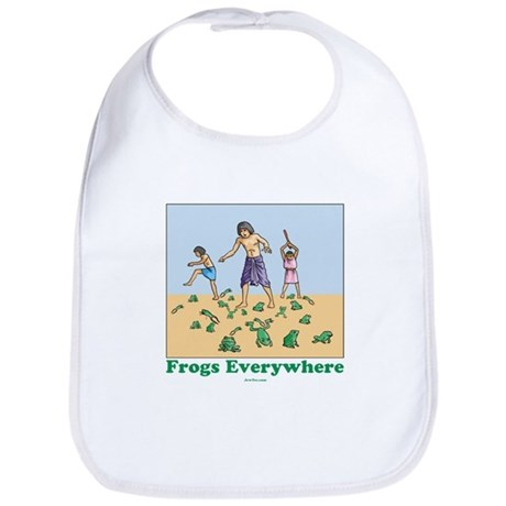 Frogs Kids Passover Bib