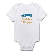 Daddy's Lil Logger Infant Bodysuit