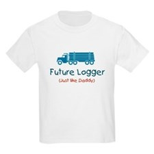 Future Logger - Blue T-Shirt