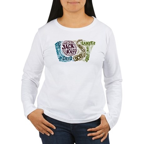 Lost Characters Women's Long Sleeve T-Shirt