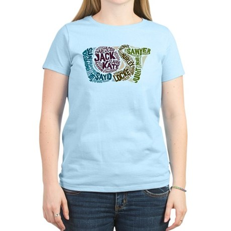 Lost Characters Women's Light T-Shirt