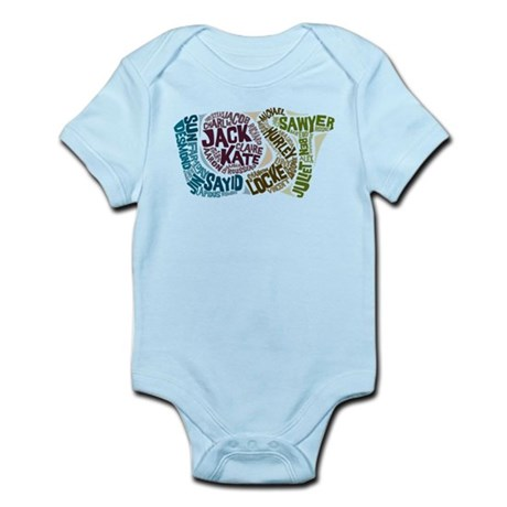 Lost Characters Infant Bodysuit
