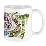 Lost Characters Mug