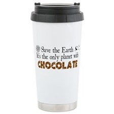 Chocolate Earth Ceramic Travel Mug