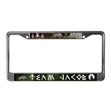 Team Jacob License Plate Frame