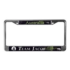 Team Jacob Australia AUS License Plate Frame