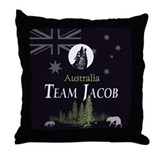 Team Jacob Australia AUS Throw Pillow
