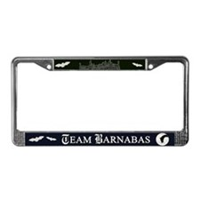 Team Barnabas B&W License Plate Frame