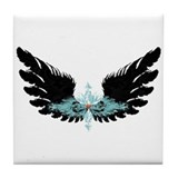 Michael's Wings Tile Coaster