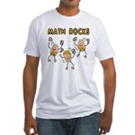 Math Rocks Fitted T-Shirt