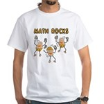 Math Rocks White T-Shirt