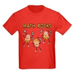 Math Rocks Kids Dark T-Shirt