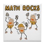 Math Rocks Tile Coaster