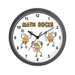 Math Rocks Wall Clock