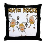 Math Rocks Throw Pillow