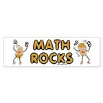 Math Rocks Sticker (Bumper 10 pk)