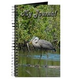 Great Blue Heron fishing Journal
