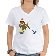 Sock Monkey Curling Shirt