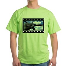Plane Crazy Artwork Blades of Freedom T-Shirt