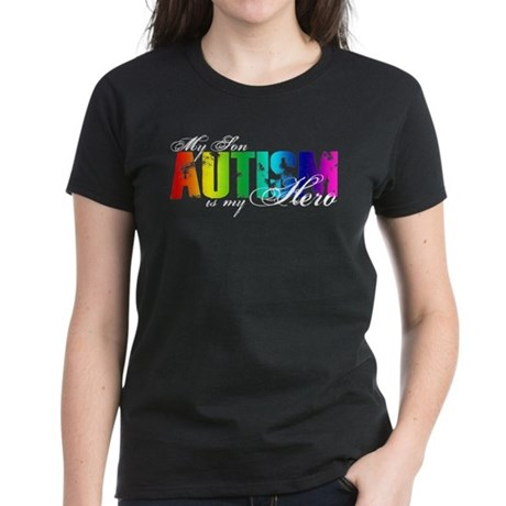 My Son My Hero - Autism Women's Dark T-Shirt