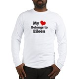 My Heart: Eileen Long Sleeve T-Shirt