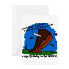 Cute Geek birthday Greeting Card
