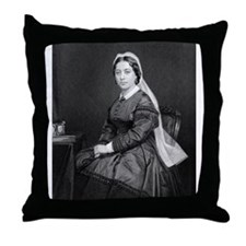 Hawaiian Queen Emma Throw Pillow