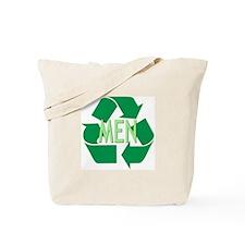 Recycle Men Tote Bag