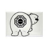 Dharma Bear Rectangle Magnet (10 pack)
