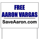 """Free Aaron Vargas"" Yard Sign"