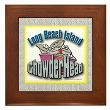 LBI Chowderhead... Framed Tile