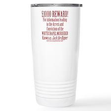 Jack the Ripper Reward Ceramic Travel Mug