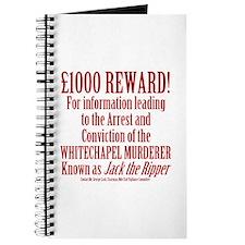 Jack the Ripper Reward Journal