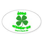 Don't Pinch Me CC Sticker (Oval 50 pk)