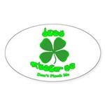 Don't Pinch Me CC Sticker (Oval 10 pk)