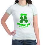 Don't Pinch Me CC Jr. Ringer T-Shirt