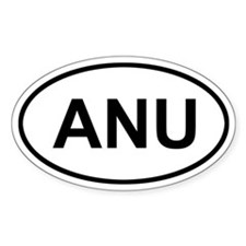 Antigua and Barbuda ANU Decal
