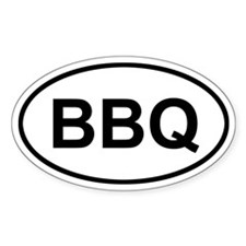 Antigua and Barbuda BBQ Decal