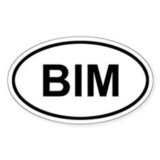 Bimini Bahamas BIM Decal