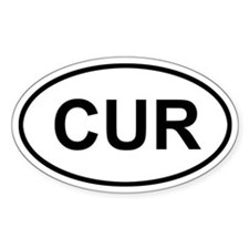 Curacao CUR Decal