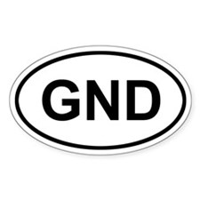 Grenada GND Decal